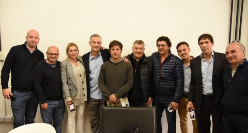 El Intendente Poletti junto a una comitiva de empresarios se reunieron con Axel Kicillof