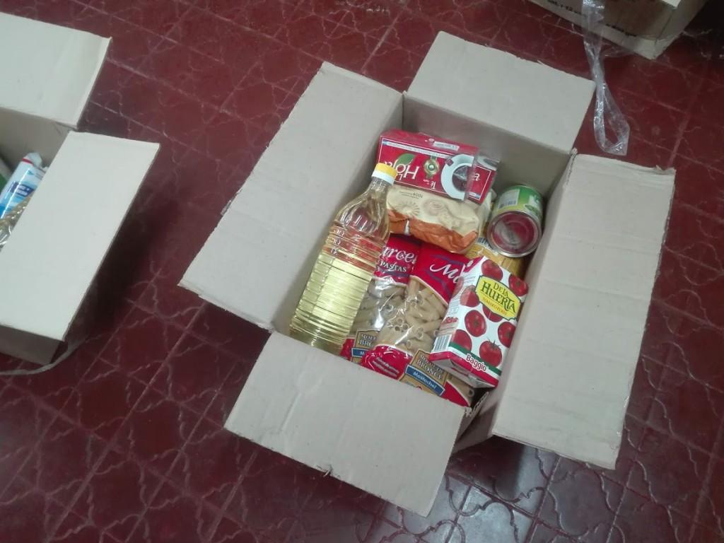 Este lunes comienza la entrega de ayuda alimentaria en la escuelas