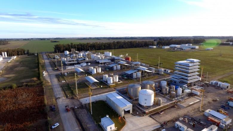 El Grupo Bahía Energía invierte $ 1600 millones en una planta de glicerina en Ramallo