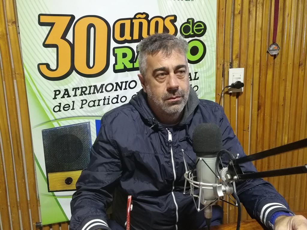 El club en tiempos de pandemia: José Luis Torriani, presidente de Defensores de Villa Ramallo.