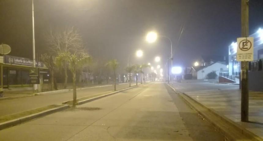 El humo cubre Ramallo