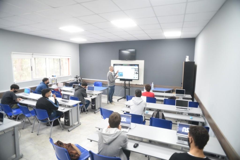 Gen Técnico: nuevas obras en la Escuela Fray Luis Beltrán