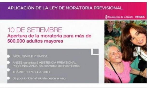 Asesoramiento sobre la nueva Moratoria en Pérez Millán