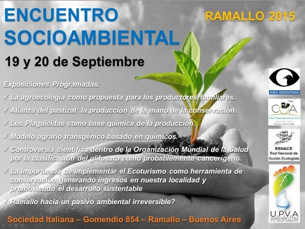 """""""Encuentro Socio Ambiental Ramallo 2015"""""""