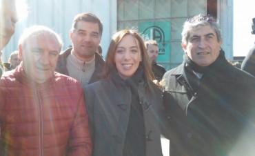 """María Eugenia Vidal """"Se debe trabajar mucho en mejorar la infraestructura en el norte de la provincia de Buenos Aires"""""""