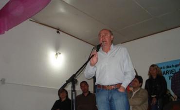 """Ariel Santalla """"En los últimos siete años no recibimos un solo peso del gobierno nacional"""""""
