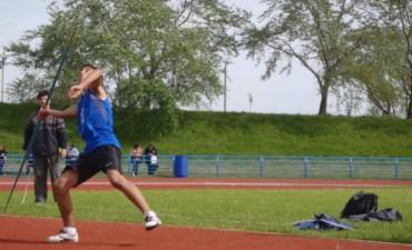 Ramallo obtuvo la primer medalla en lanzamiento de jabalina