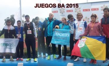 Ramallo obtuvo dos medallas en la primera jornada de los Juegos
