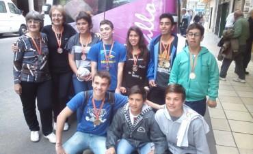 Ramallo obtuvo ocho medallas en los Juegos Buenos Aires