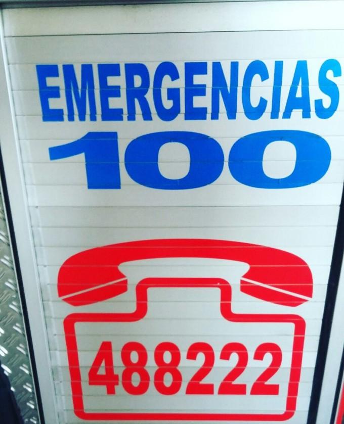 Los bomberos esperan por Telecom