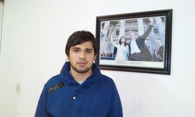 """Diego Lutri  """"Hoy tenemos que defender el empleo"""""""