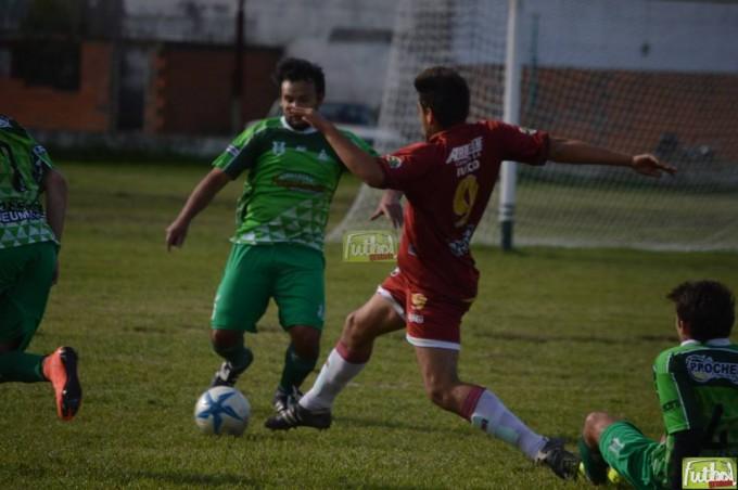 El clásico de Villa Ramallo terminó igualado 1 a 1
