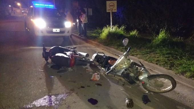 Violento accidente en barrio La Ranas