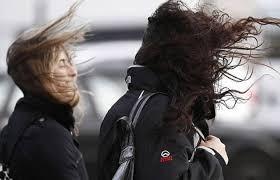 Alerta por vientos intensos con ráfagas