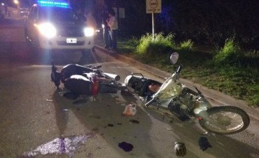 Violento accidente en barrio La Ranas