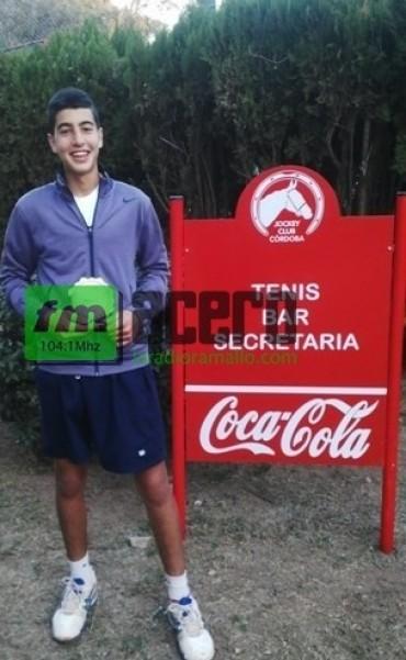 El tenista ramallense sigue creciendo