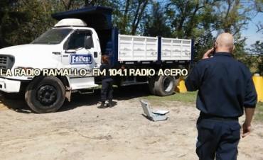 Patrulla rural: Recuperan un camión robado en Rosario