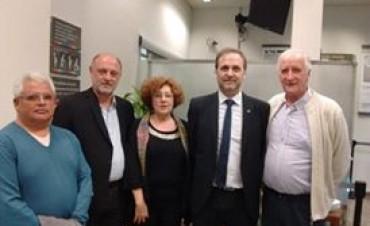 Rumbos participó del aniversario del Banco Credicoop