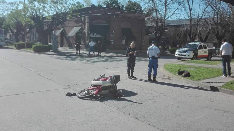 Accidente en Villa Ramallo