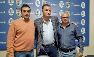 El Intendente Mauro David Poletti presentó al nuevo delegado de Pérez Millán