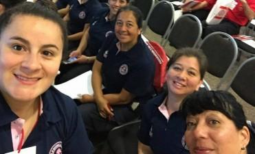 Una delegación de bomberos participa en las jornadas de Género y Derechos Humanos en Paraná