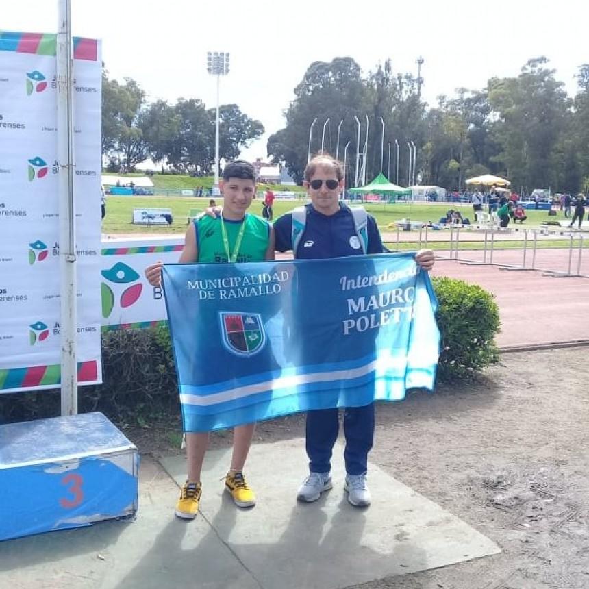 Buen comienzo de Ramallo en la final de los Juegos Bonaerenses