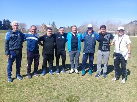 Racing de Avellaneda realizó una prueba de jugadores en Los Andes