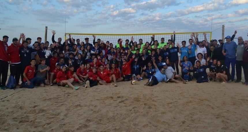 El Torneo Nacional de Beach Voley  superó las expectativas