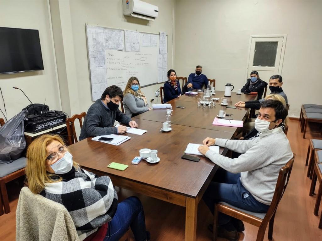 El gobierno municipal informó los resultados de la primer reunión en el marco de la paritaria municipal