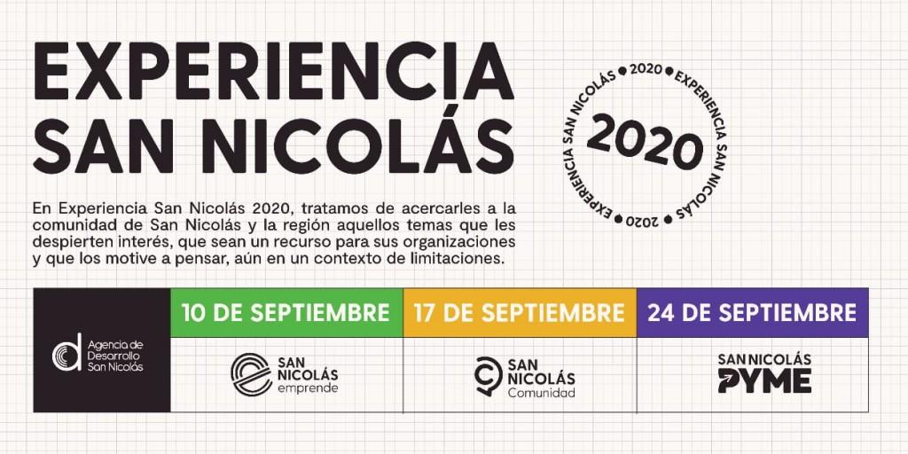 """Se viene """"Experiencia San Nicolás"""", un evento online para pensar la ciudad y la región a partir de la pandemia"""