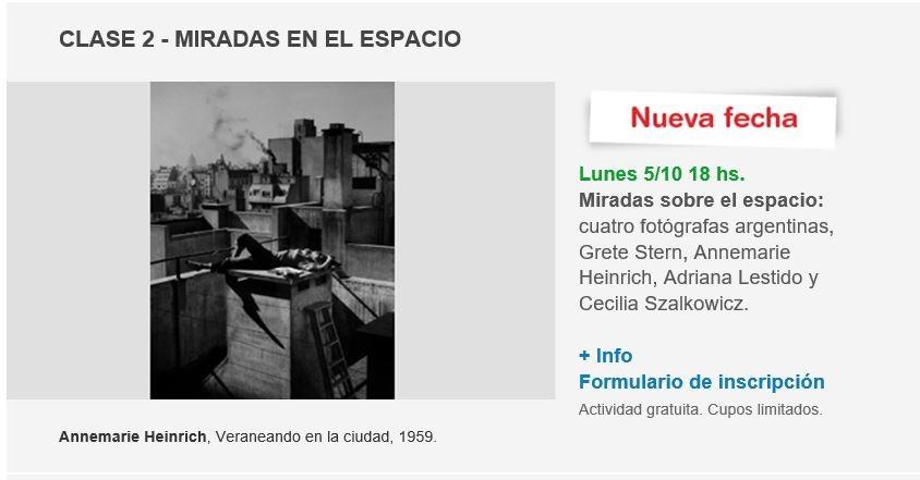 Por cupos agotados: nuevas fechas para los encuentros de Fotografía de Ternium y Fundación PROA.