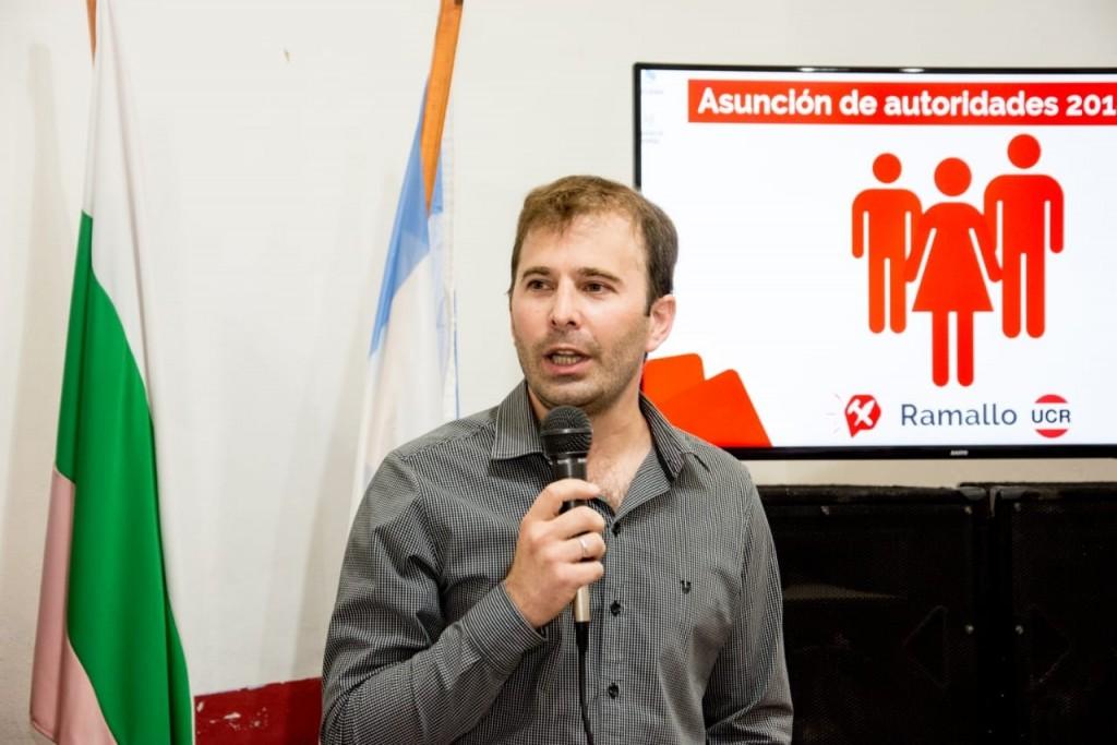 Diego Díaz candidato a presidir la UCR Ramallo