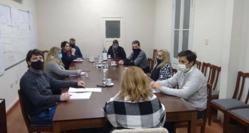 Se reunió la mesa paritaria municipal