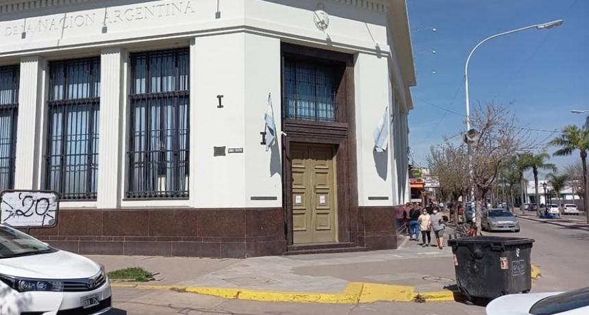El Banco Nación permanecerá cerrado