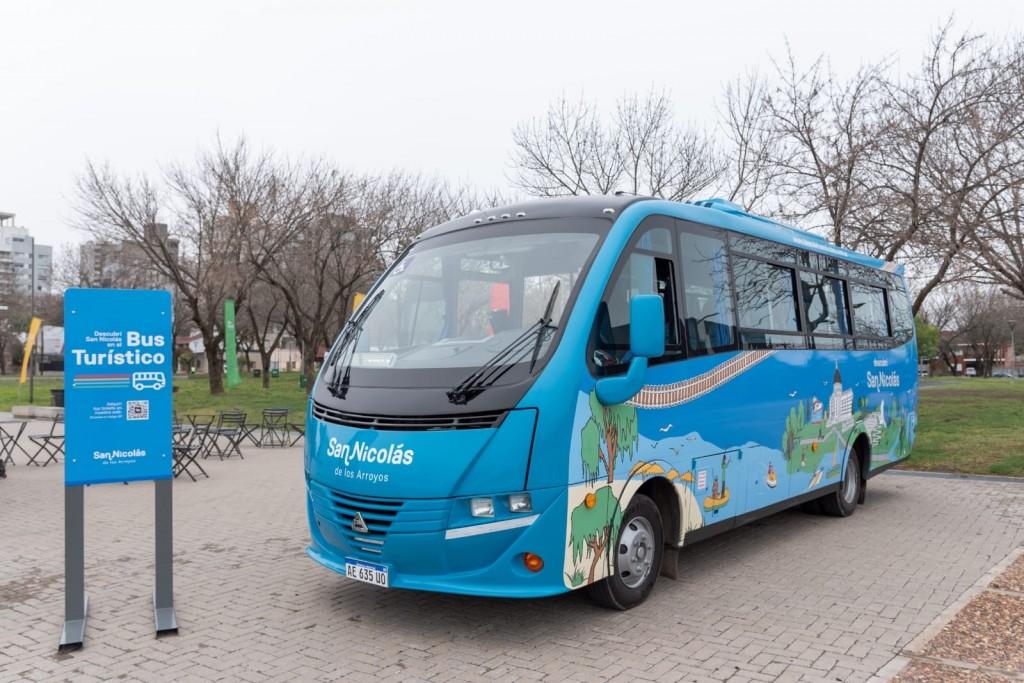 San Nicolás ya tiene su bus turístico