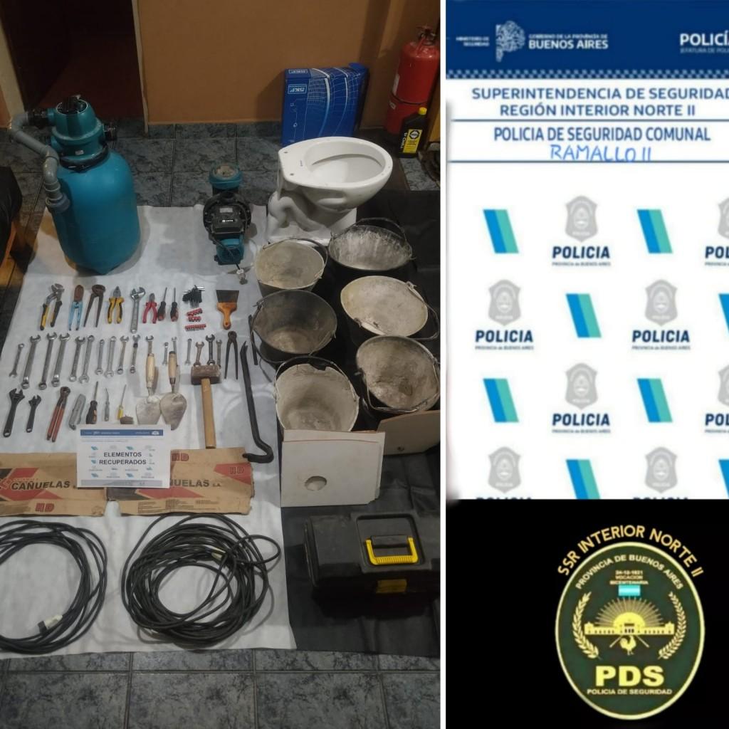 Villa General Savio: Robo esclarecido por la ayuda de monitoreo de Ramallo y San Nicolás