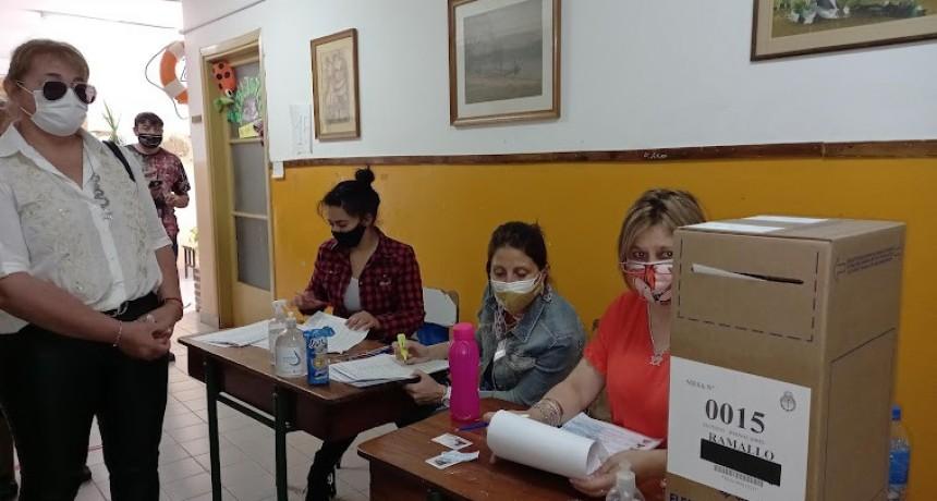 El voto en blanco la tercera opción más votada en Ramallo