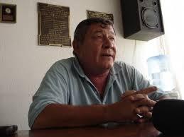 """Alejandro Agotegaray: """"Los helicópteros pasan  por acá arriba, bajan en San Nicolás con cheques de ocho cero  y a nosotros nos pasan por arriba y no nos tiran ni papel picado"""""""