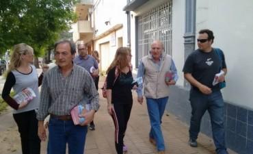 """Ariel Santalla- Frente Cambiemos """"Vamos a seguir fortaleciendo la matriz de desarrollo local"""""""