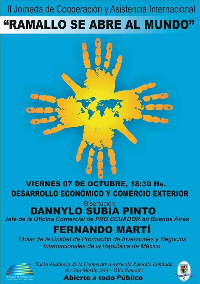 II Jornada de Cooperación Internacional