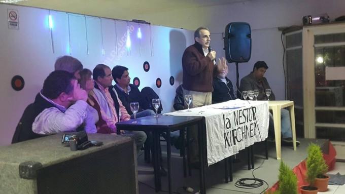 Guillermo Moreno estuvo en Ramallo