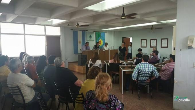 La senadora Macha visitó Ramallo