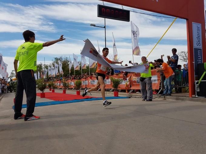 Miguel Guerra ganó por segunda vez los 10 K Ternium