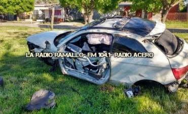 Fatal accidente en el camino de la costa