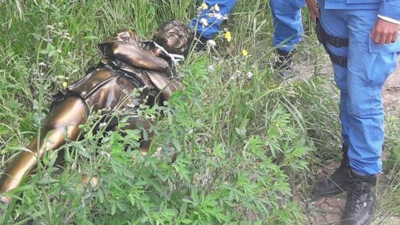 Detienen a un joven de Ramallo por el robo de una estatua en San Nicolás