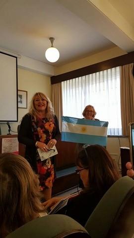 Sandra Genoud participa del Festival Internacional de Poesía en Madrid