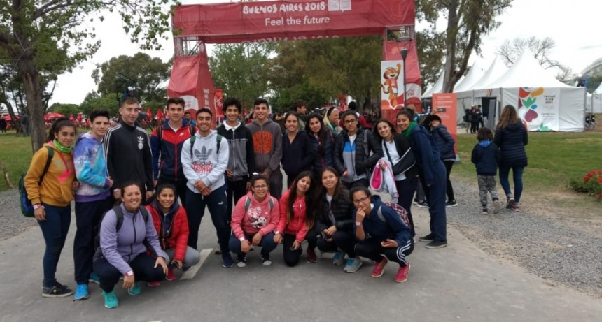 Estudiantes de Pérez Millán visitaron el Parque Olímpico