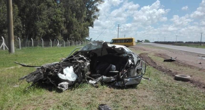 Choque frontal en el camino de la costa: Un muerto y varios lesionados