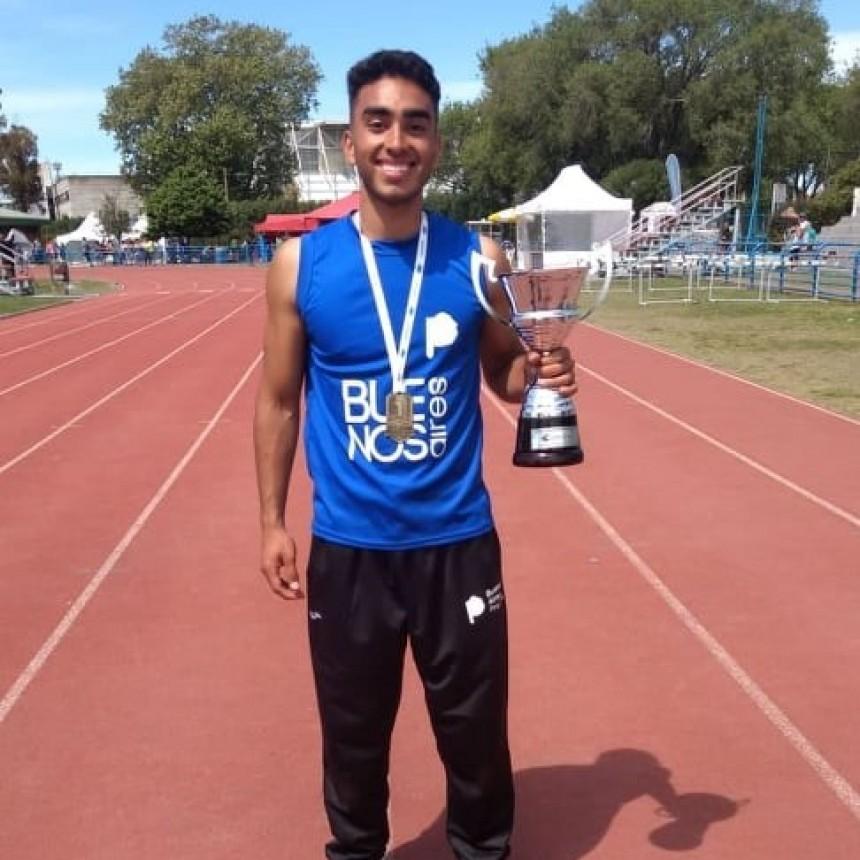 Lisandro Portillo Campeón Nacional en los Juegos Evita