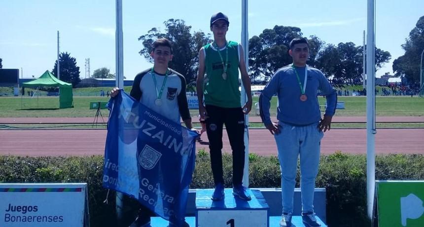 Danilo Arias logró la primera medalla de oro para Ramallo